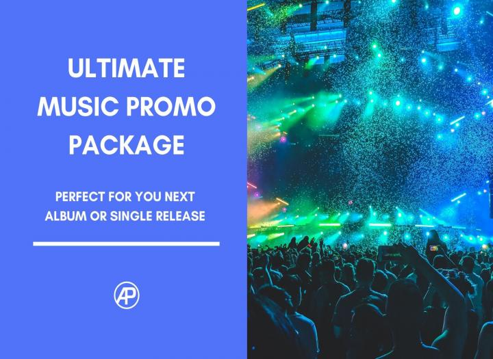 Ultimate Music Promo / Album Release Package: Radio, Blog, EPK, Bio, & more