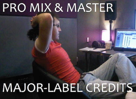 MIX & MASTER, MAJOR LABEL CREDITS (SONY/EPIC, AVEX TRAX+) INCLUDING UK NUMBER 1