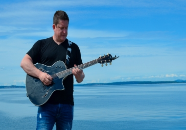 Acoustic guitar tracks professionally recorded at broadcast quality from professional composer/artist