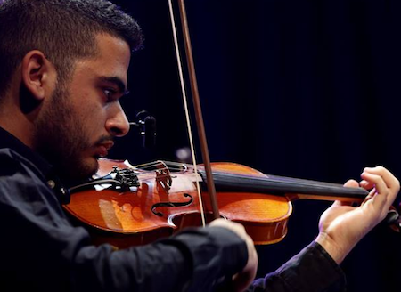 violin or viola solo or strings for your projects