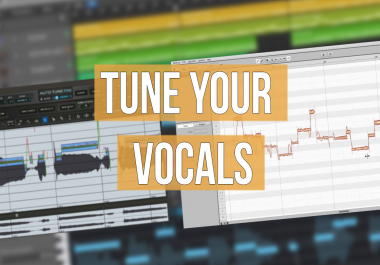 HAND-DONE VOCAL EDITING | MIXING ENGINEER AND MUSICIAN WITH PERFECT PITCH