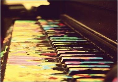 Blues Piano Track (Audio/MIDI) w/ 1 Revision/Alternate