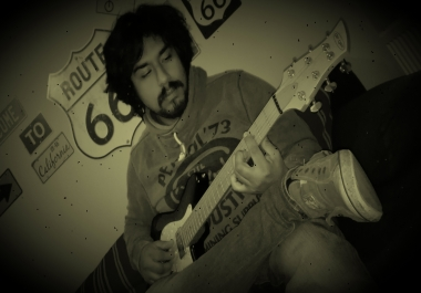 I can record an amazing guitar solo for you (electric guitar, acoustic guitar)