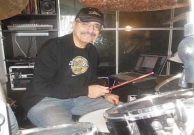Sam Varon Studio Drummer - Custom Drum Tracks for your project. Satisfaction Guaranteed