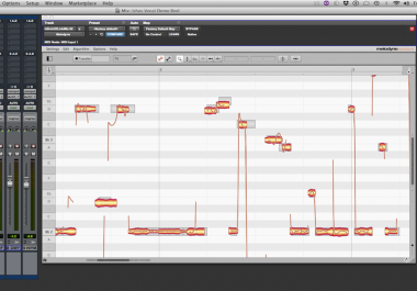 Vocal Tuning with Melodyne and Autotune