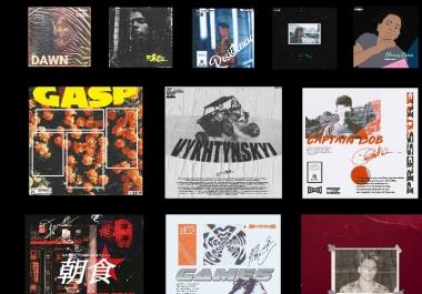 Unique Cover Artwork for Albums, Singles, Magazines.