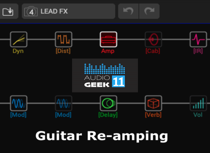HELIX GUITAR REAMPING