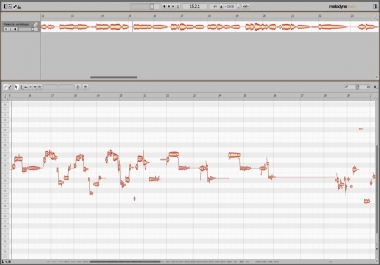 Manually tune your vocal recording on Melodyne