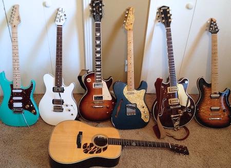 Single Guitar Track - Acoustic/Electric/Nylon/Lap Steel/Mandolin/Ukulele/Baritone