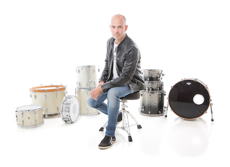 High Quality Drum Recording and skype session by Grammy Nominated Drummer.