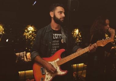 Record  Progressive Rock Pink Floyd David Gilmour Style Guitars