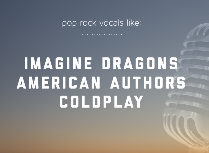 Rock / Sync / TV Film Vocals Imagine Dragons/Black Keys/American Authors  - Millions of streams and many sync placements