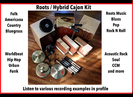 Roots/Hybrid  Percussion Kit