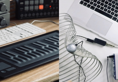 ROLI Seaboard with Five-Dimensional (5D) sounds to your tracks