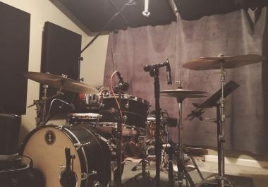Drum Recording by Nashville Session Drummer