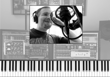 PROFESSIONAL MODERN POP GUITAR RECORDING -$75