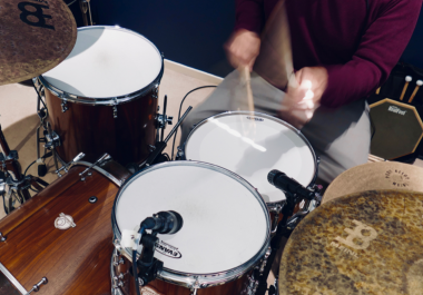 Professionally Recorded Drum Tracks, perfect for your music. 100% Satisfaction Guarantee!