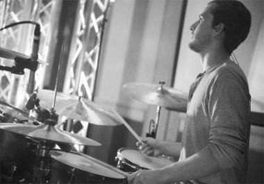 Professional Custom Studio Quality Drum Tracks By Luke O'Kelley