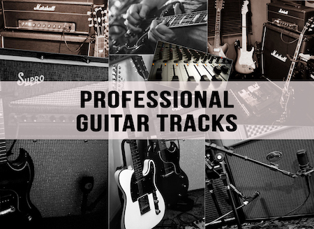 Professional guitar tracks