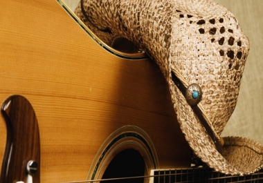 Country Music, full production, all instruments, lead and harmony vocals, mixed and mastered