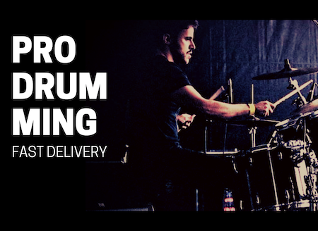 Pro Drumming for Your Music Fast Delivery