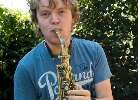 I will record saxophone on a professional level