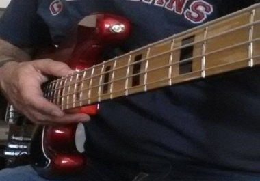 A top notch, groovy electric bass track for your song