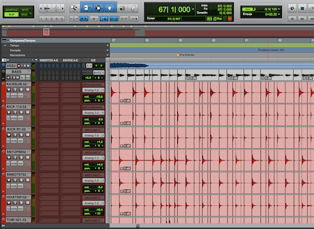 I edit audios, I adjust voices, I quantize and clean so that you have a more optimal sound before mixing