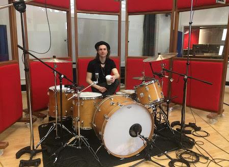 London's Studio/West End Drummer - Producer: Drum Tracks In Professional Studio