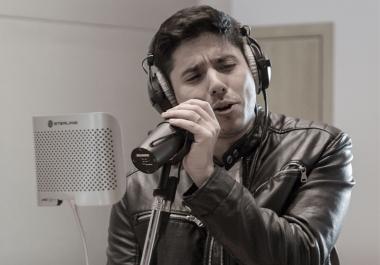 Male Spanish and Latin vocalist