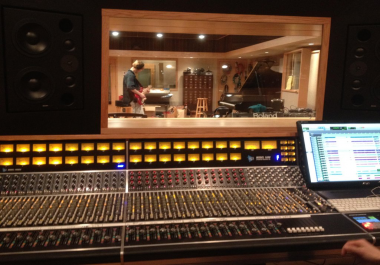 STEM MASTERING IN A NEW YORK STUDIO