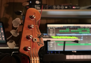 "Pro studio quality bass recordings for your 1st order ""PROMO PRICE"""