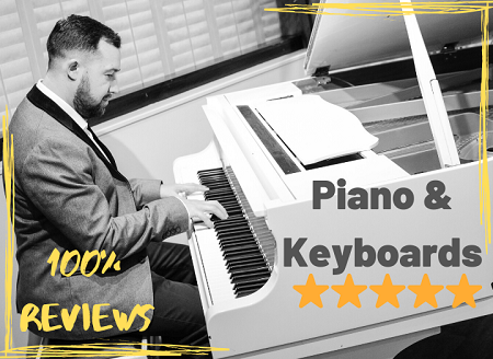 Beautiful Piano & Keyboards for your songs. I Work with many Grammy winning artists. 100% 5 star reviews on airgigs.