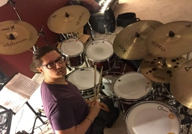 NASHVILLE DRUM TRACKS INCLUDES PERCUSSION OVERDUBS & LIGHT MIXING