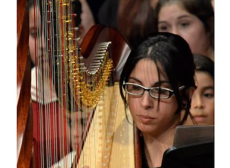 Harpist for your music, arrangements and recording