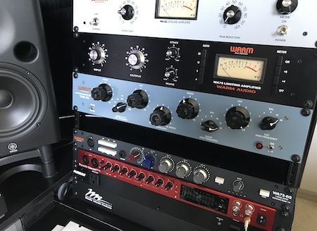 PROFESSIONAL MIXING WITH ANALOG FLAVOR