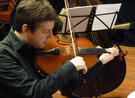 Violin or Viola one track Recordings soloing. Neumann/Dpa Miking