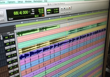 Professional Drums Editing / Align