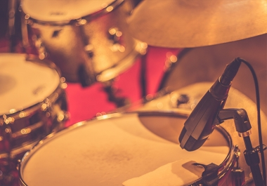 Record live drums for one song with 3 revisions!