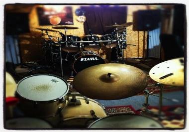 Professional 14 tracks drum recordings