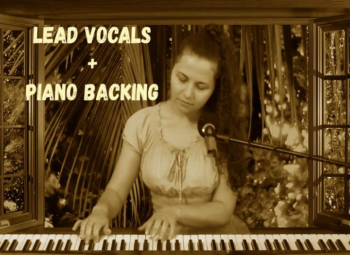 LEAD VOCALS & PIANO BACKING