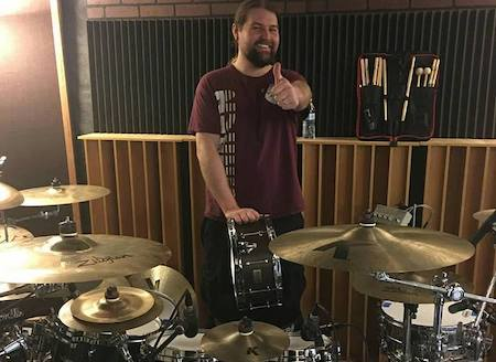 Rock & Metal Drum Tracking for your songs (drummer from HELION PRIME and LUNAR) $175 per song