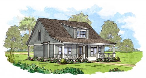 Hampton Lake Greenwood sketch