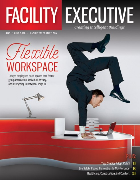 Facility Executive May-June 2016 featuring CorePower Yoga & ServiceChannel