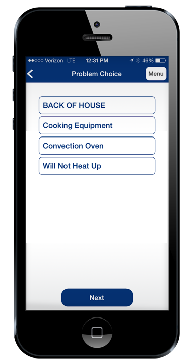 Mobile Work Order Management for Restaurants