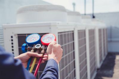 building air conditioning unit
