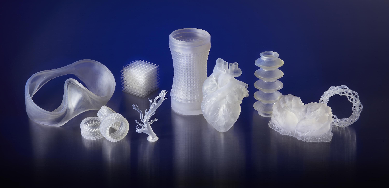 фотополимер от Формлабс гибкий как силикон 3D печатные модели