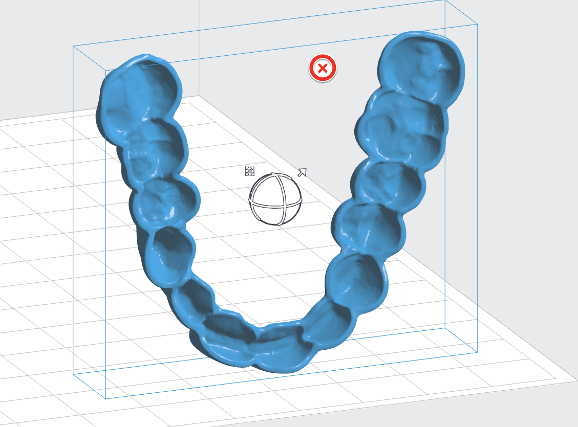 Printing Splints With Dental Lt Clear Resin 3d Tooth Diagram Additionally Parts Of A Bridge For Teeth Inspect The Part To Ensure There Are No Support Touchpoints On Intaglio Surfaces Use Manual Editing Feature Add Or Remove Supports