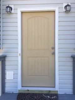 door after construction