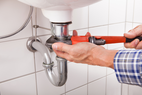 Leak Under Sink Causes Water Damage to Home